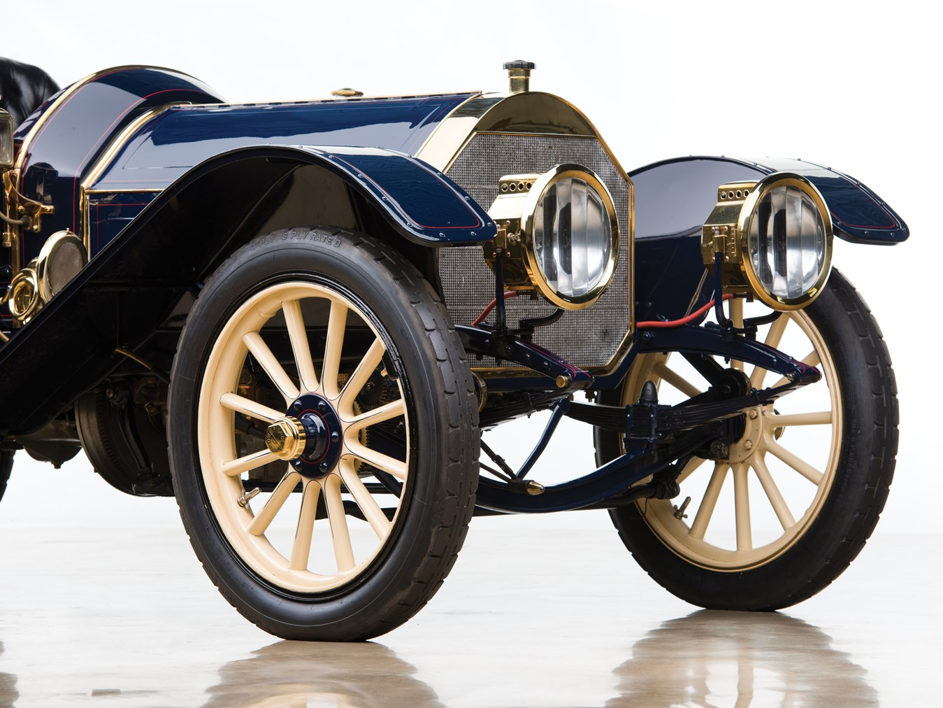 1910 Pierce-Arrow Model 48-SS Demi-Tonneau