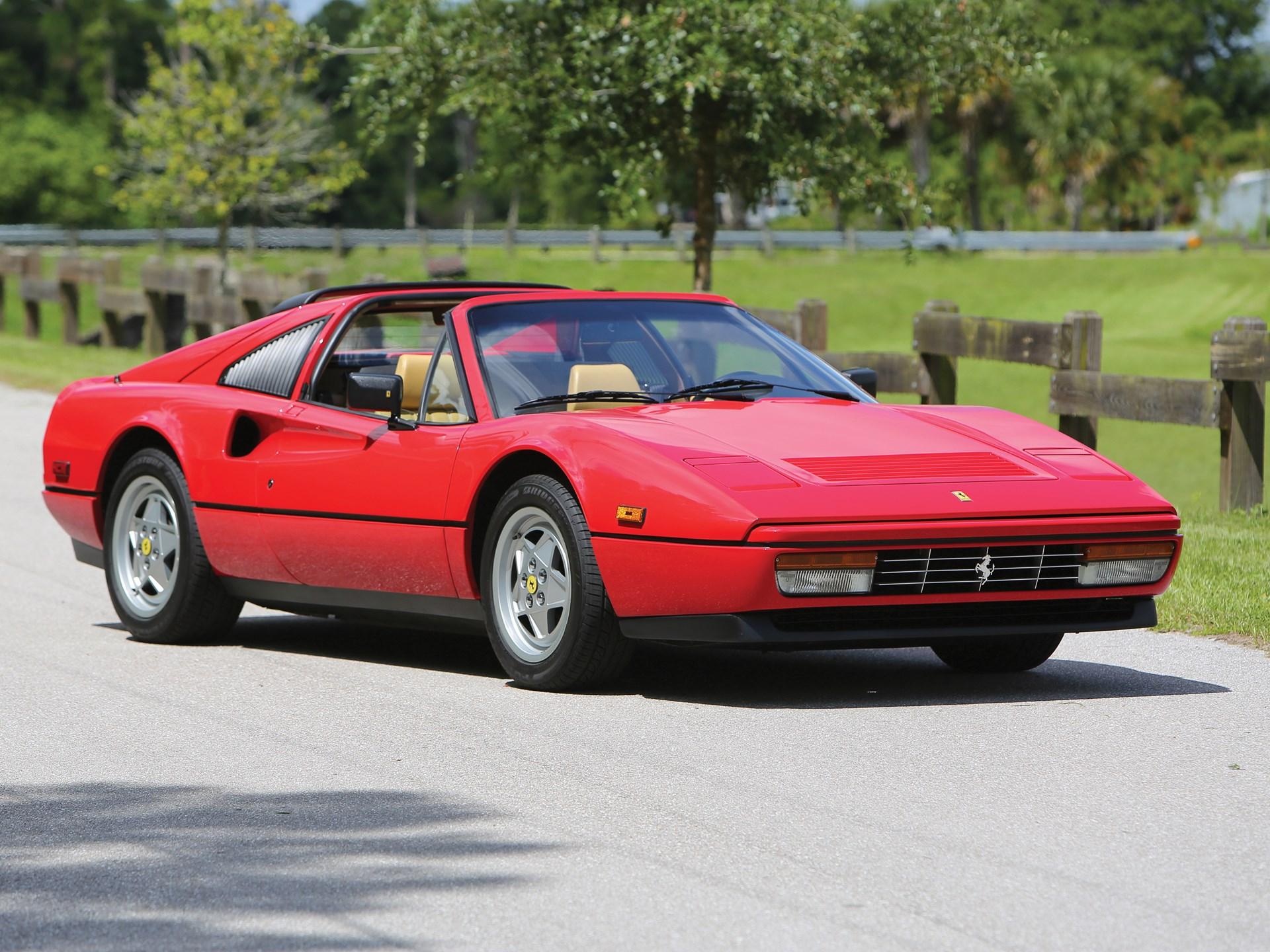 Rm Sothebys 1988 Ferrari 328 Gts Monterey 2016