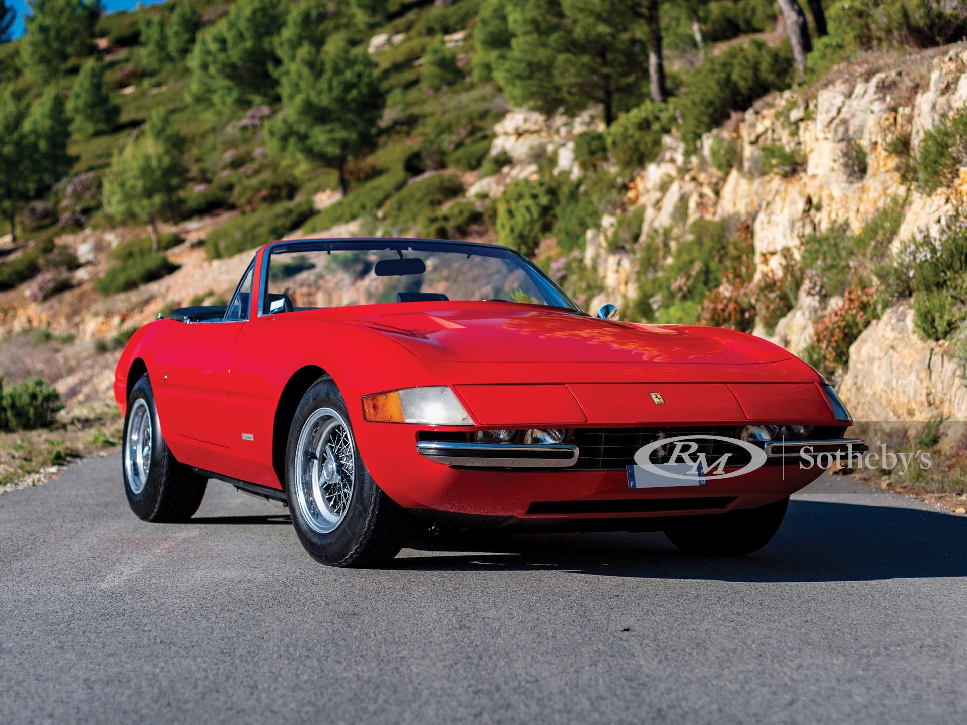 1972 Ferrari 365 Gts 4 A Daytona Spider By Scaglietti Paris 2020 Rm Sotheby S