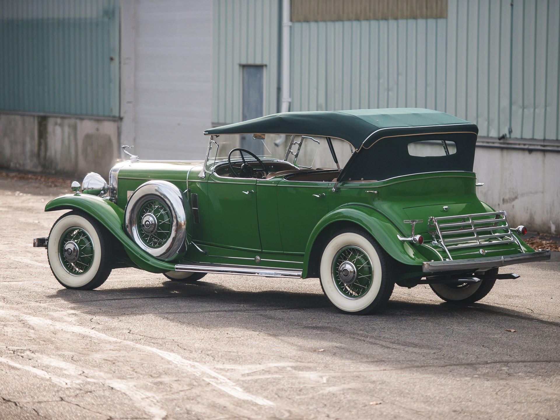 1931 Cadillac V-12 Phaeton in the style of Fleetwood