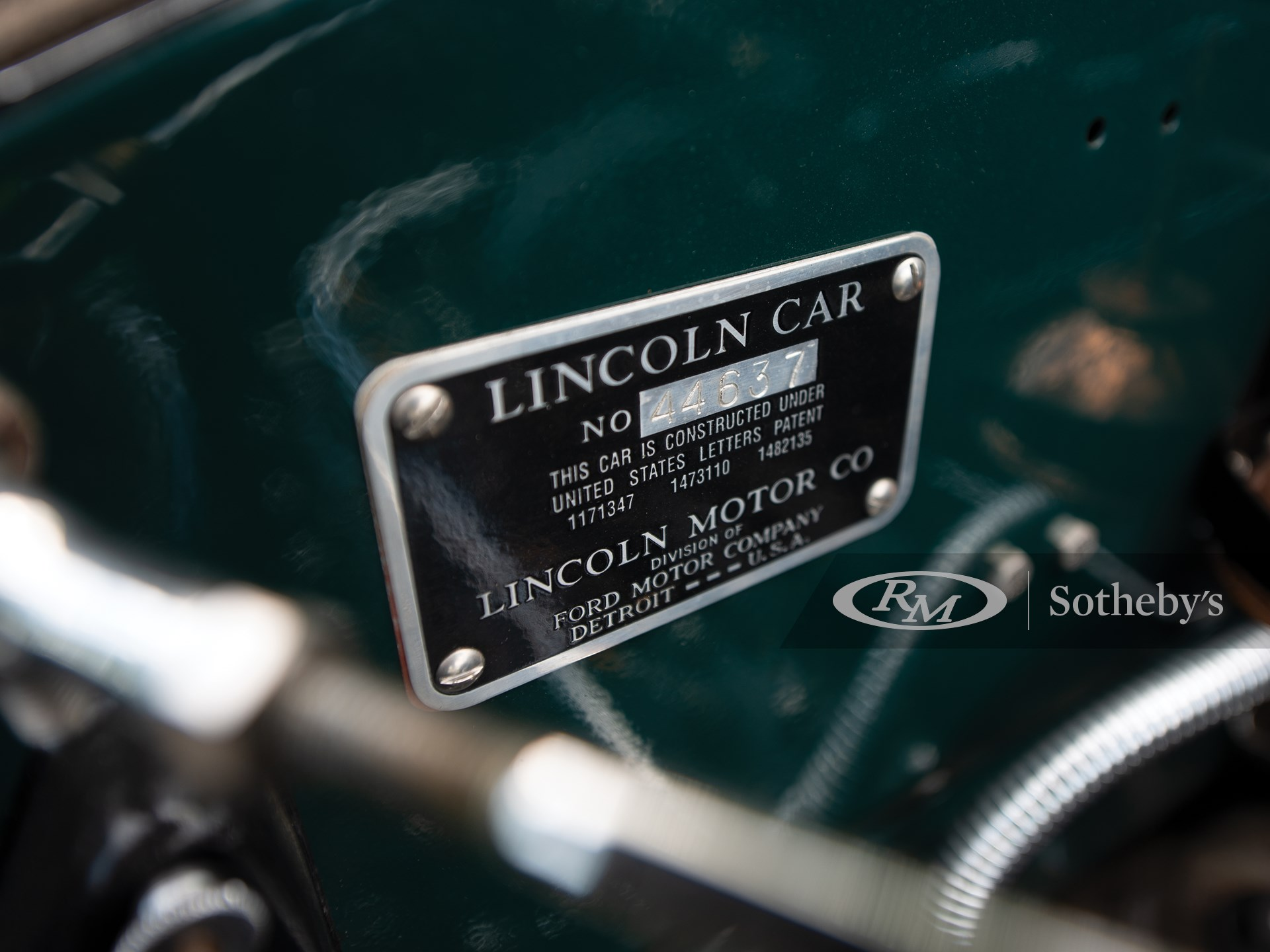 1927 Lincoln Model L Coupe Roadster by Dietrich -