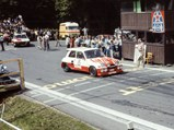 1986 Renault 5 Maxi Turbo  - $Chassis no. R5T/684 as seen at the beginning of the fourth round of the European Hill Climb Championship in 1988.