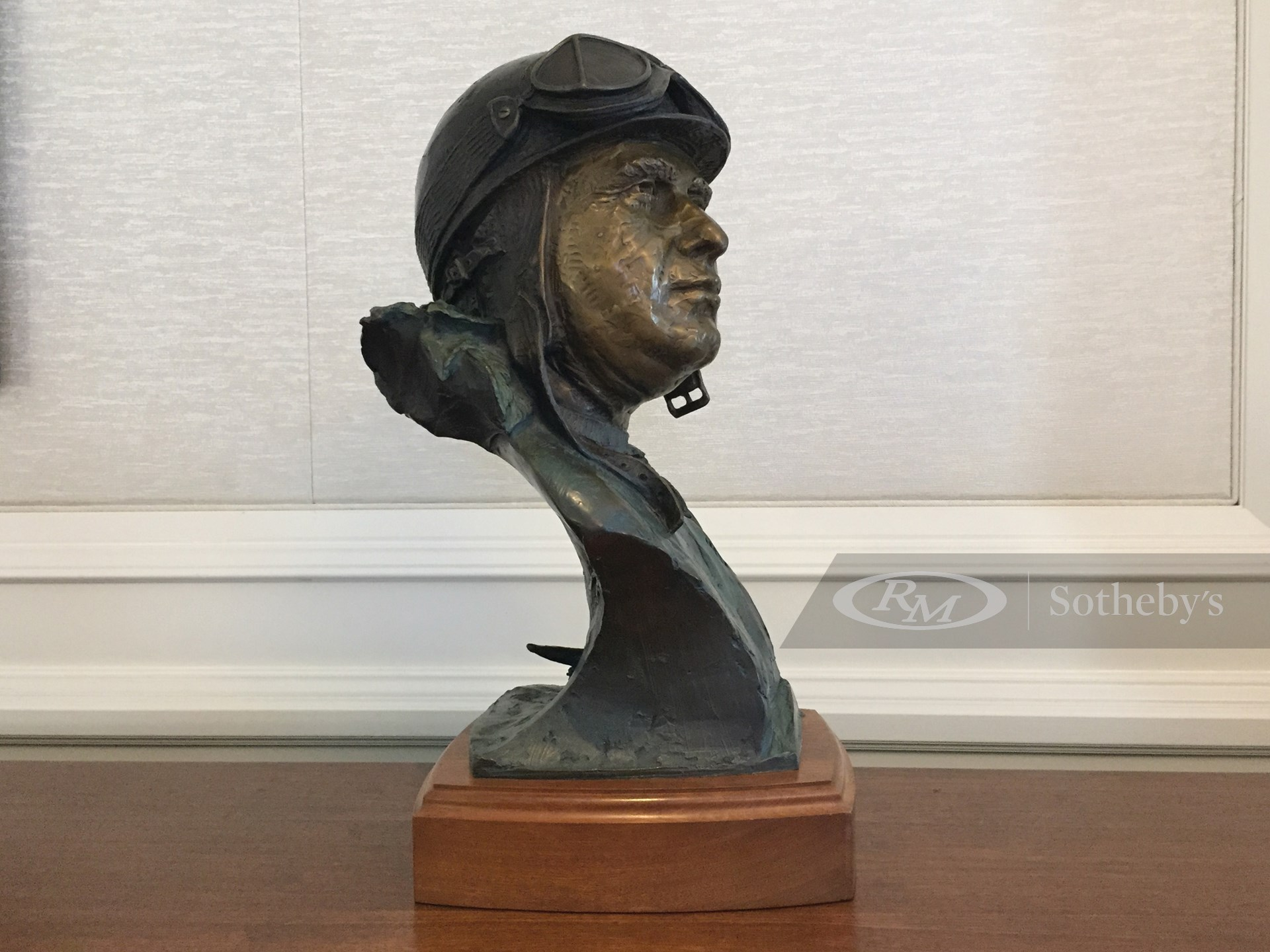 Juan Manuel Fangio by Larry Braun, 1987 -