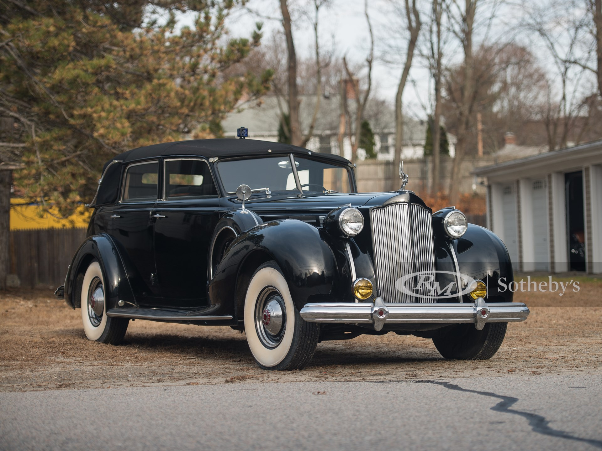 1938 Packard Twelve All-Weather Cabriolet by Brunn