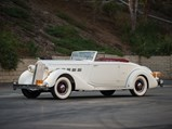 1936 Packard Super Eight Coupe Roadster  - $