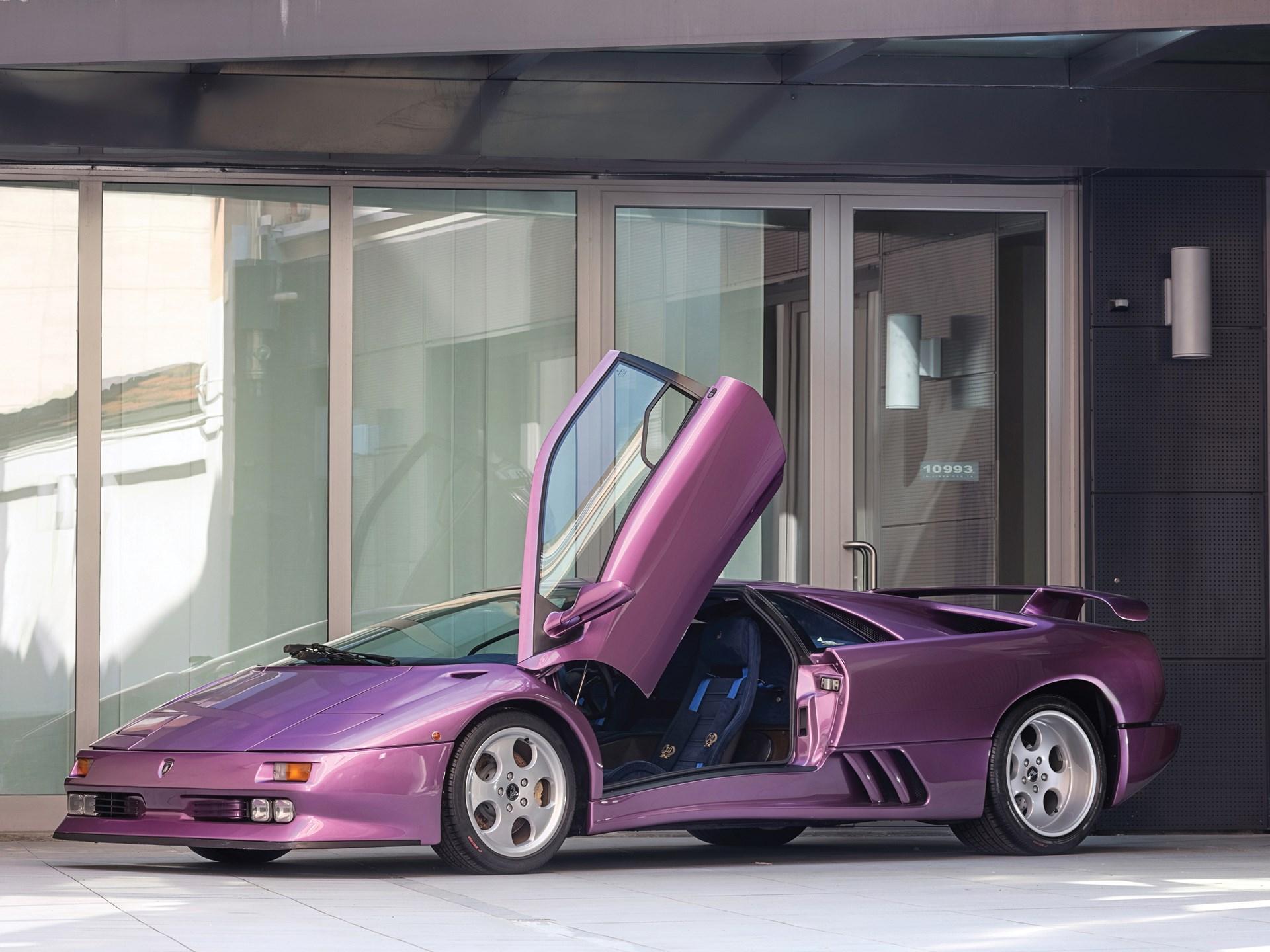 Rm Sotheby S 1994 Lamborghini Diablo Se30 Villa Erba 2017