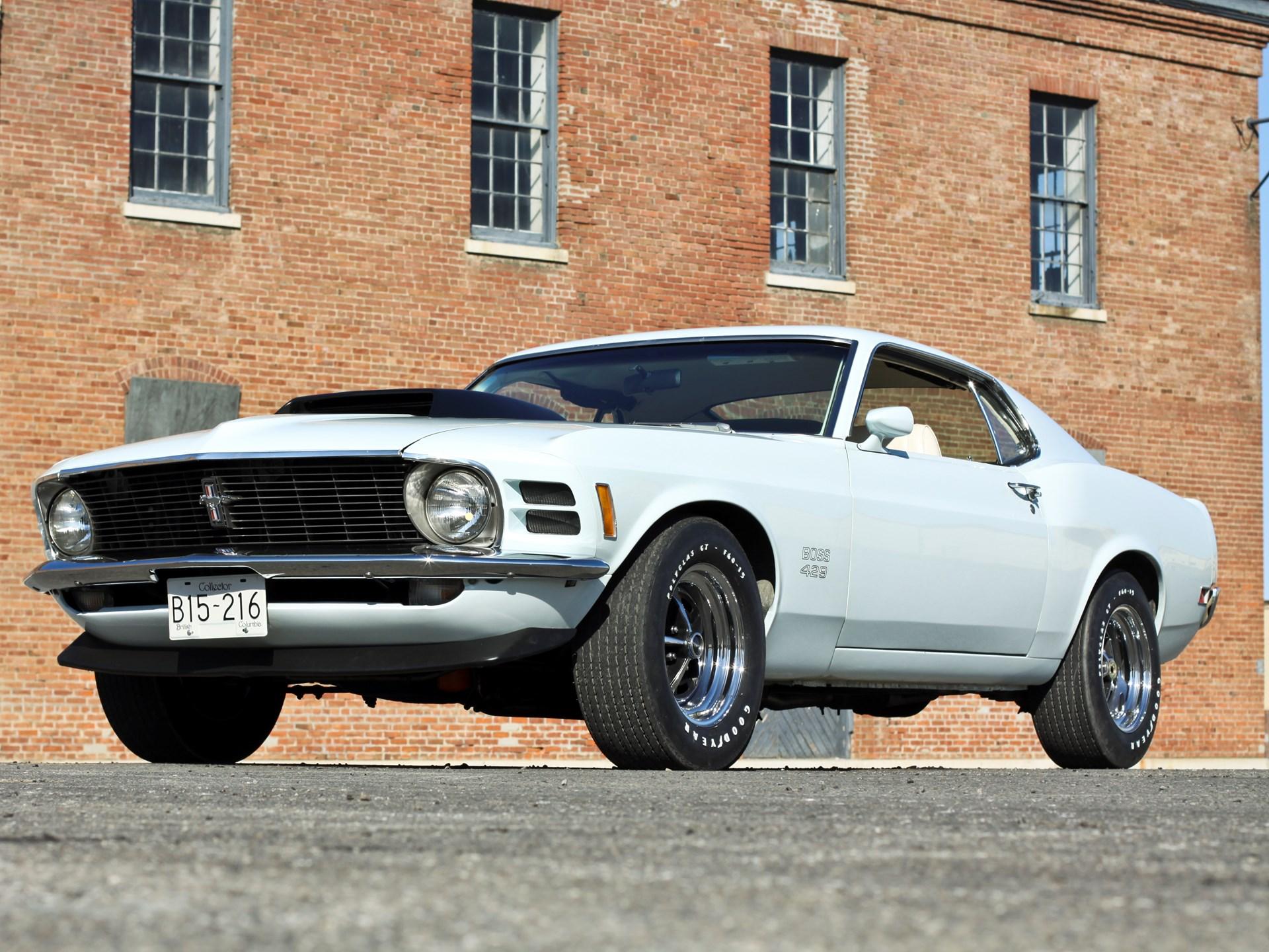 Rm Sothebys 1970 Ford Mustang Boss 429 Fastback Arizona 2012 Gt