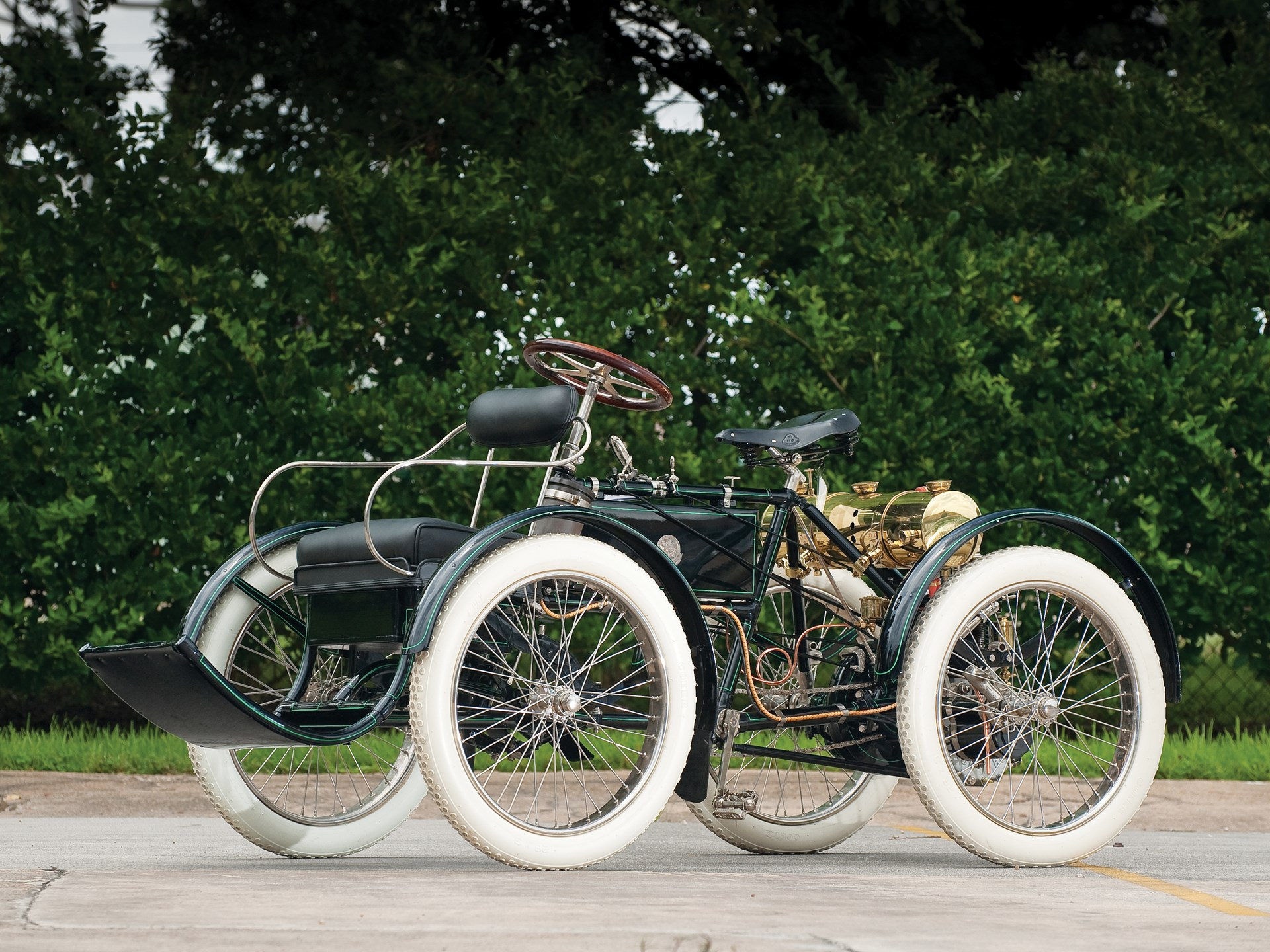 RM Sotheby's - 1900 DeDion-Bouton Perfecta Quadricycle