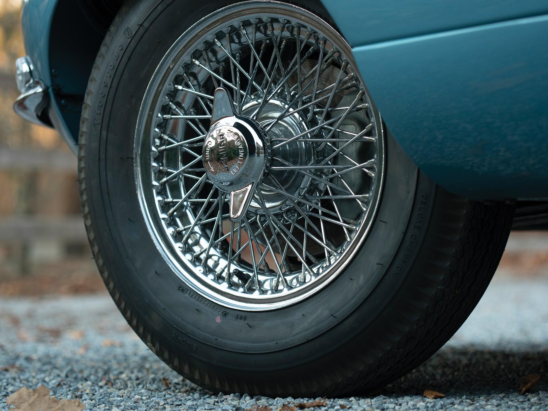 1962 Jaguar E-Type Series 1 3.8-Litre Fixed Head Coupe