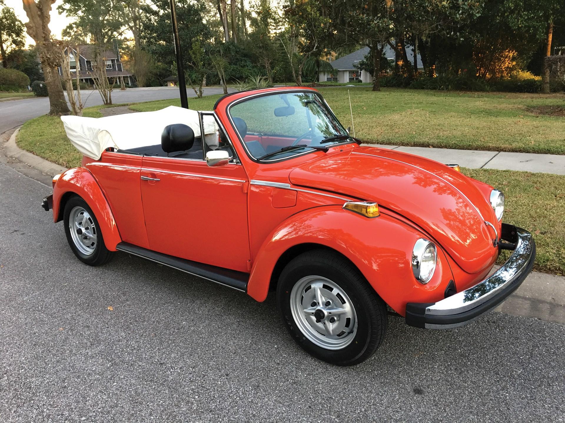 rm sotheby 39 s 1979 volkswagen beetle cabriolet fort. Black Bedroom Furniture Sets. Home Design Ideas