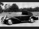 1946 Delahaye 135 Cabriolet by Figoni et Falaschi - $Chassis no. 800308 when new after the completion of its bodywork by Figoni et Falaschi.