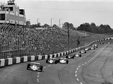 1979 McLaren M24B Indianapolis  - $The #4 McLaren of Johnny Rutherford leads the pack around the Atlanta International Raceway.