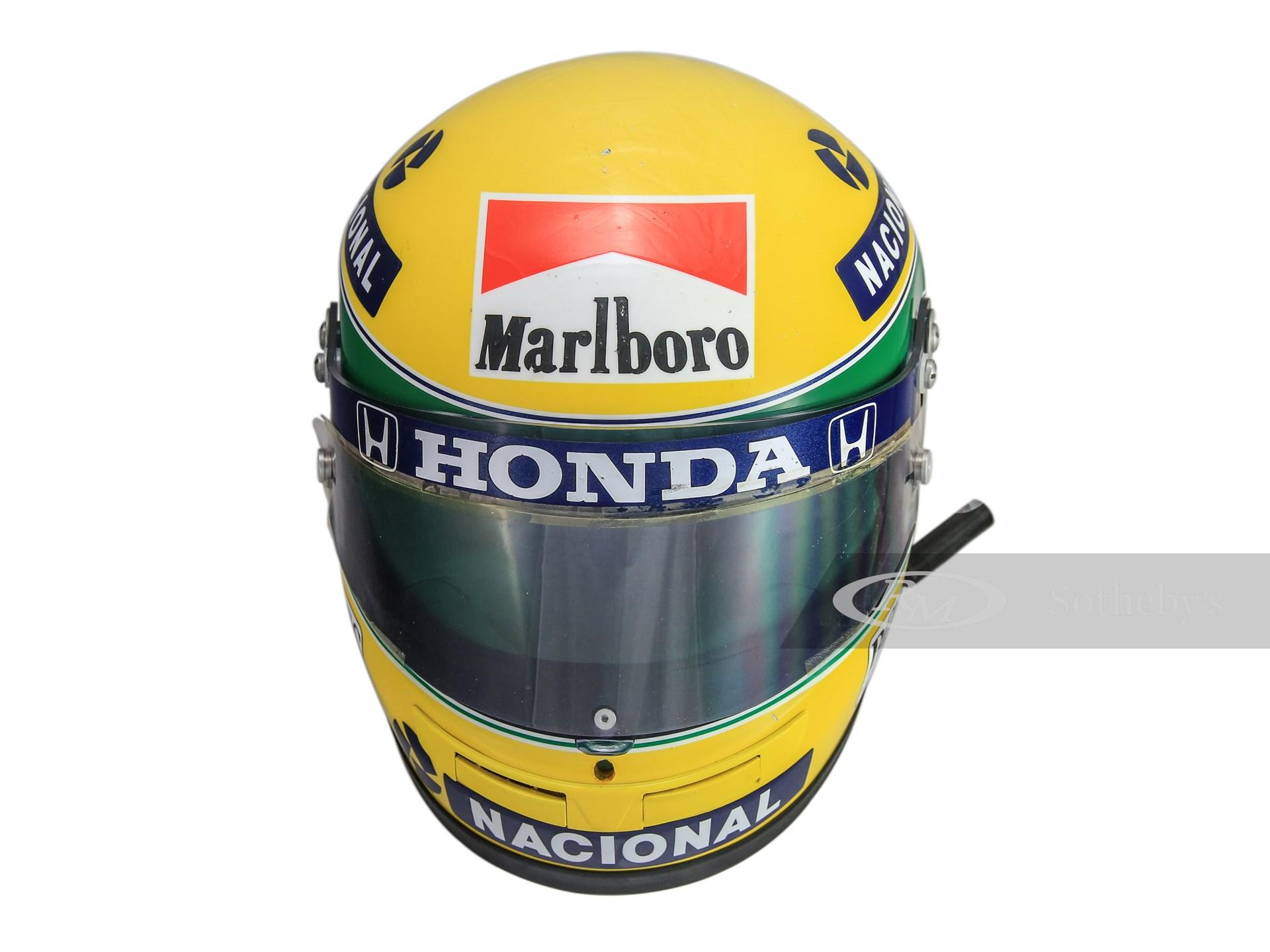 Ayrton Senna McLaren Rheos Helmet, 1990 -