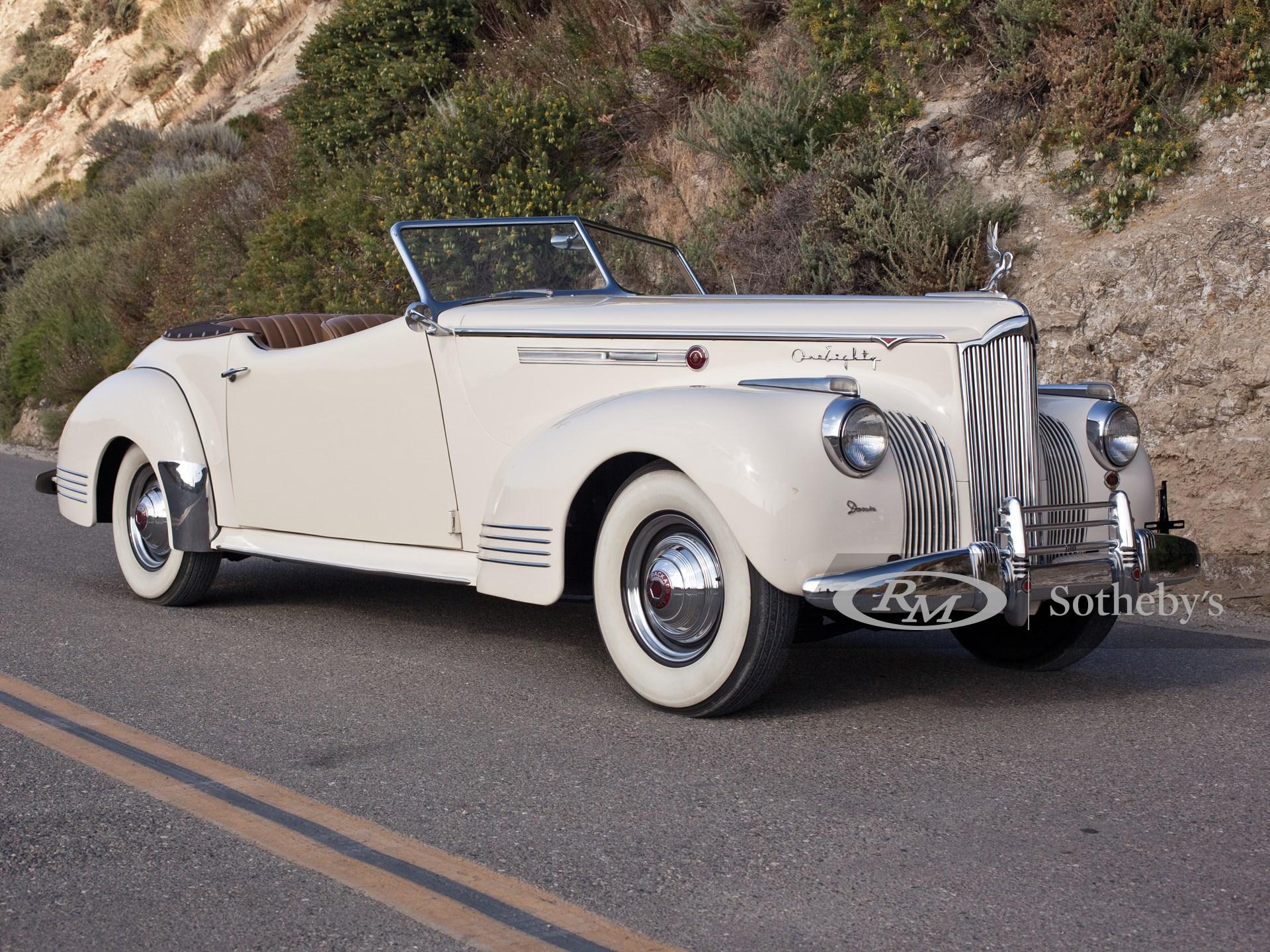 1941 Packard Super Eight Darrin Convertible Victoria