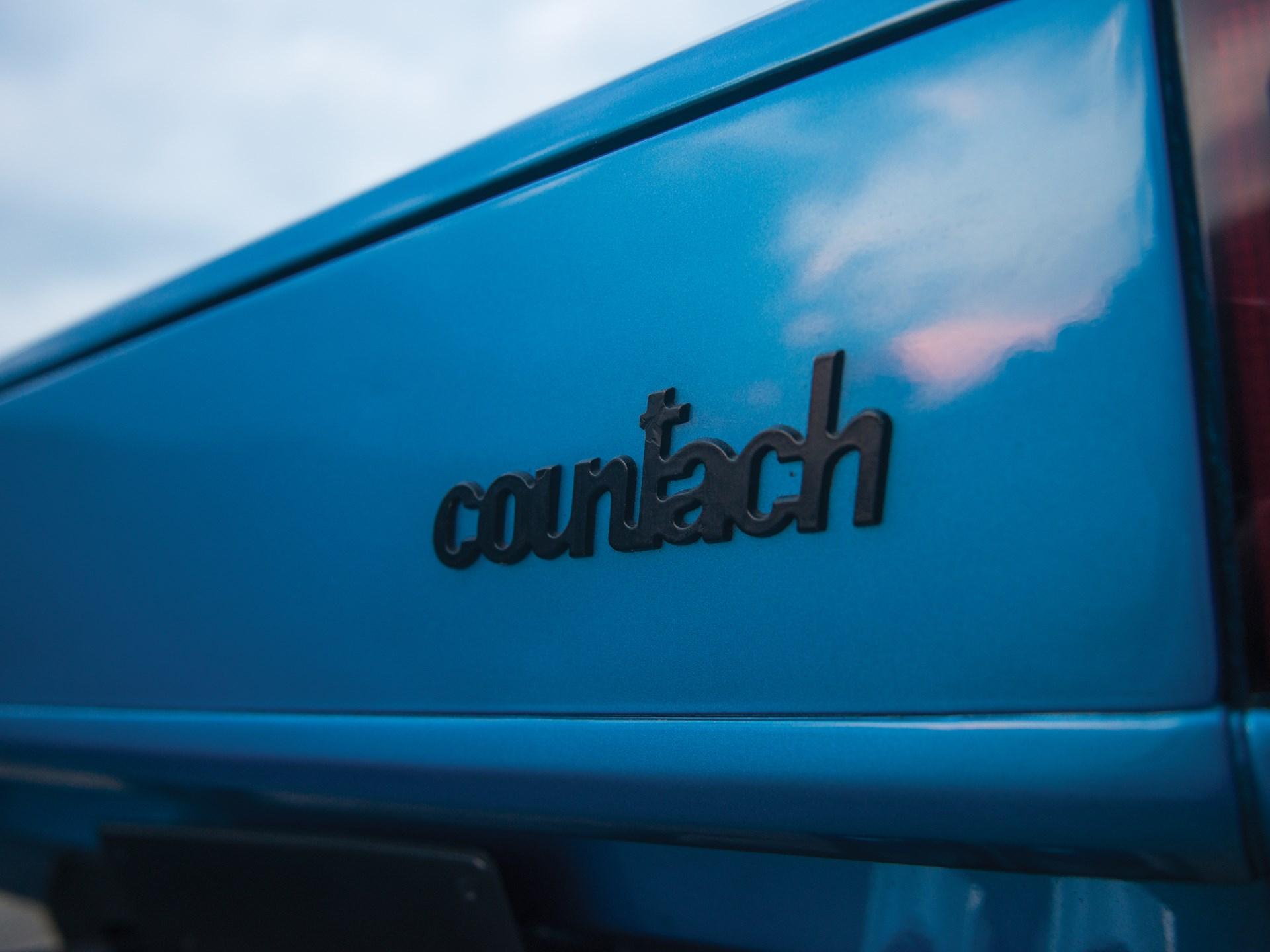 1976 Lamborghini Countach LP 400 'Periscopio' by Bertone