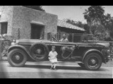 1926 Lincoln Model L 'Gothic Phaeton' by Murphy - $The original owner, Mr. Sharpe, proudly shows off his unusual Lincoln.