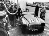 1951 Ferrari 340 America Barchetta by Touring - $Chassis 0116/A in the pits at Le Mans 1951.