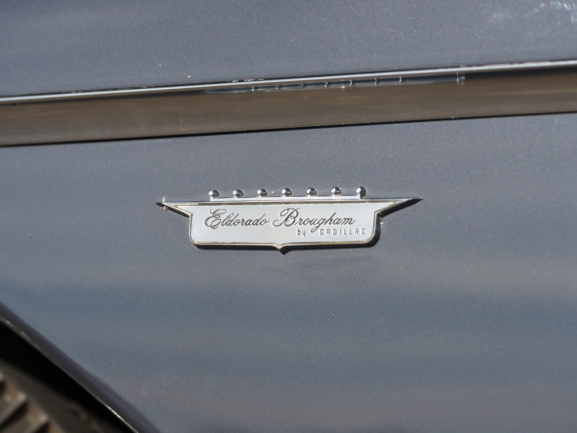 Rm Sothebys 1958 Cadillac Eldorado Brougham Arizona 2018 1957 Wiring Harness