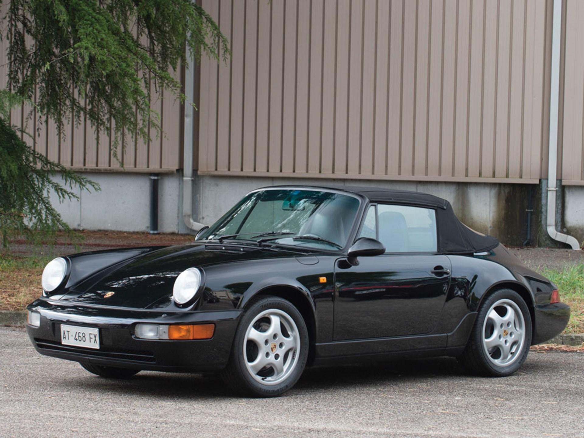 rm sotheby 39 s 1991 porsche 964 carrera cabriolet. Black Bedroom Furniture Sets. Home Design Ideas