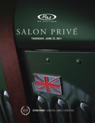 Salon Privé, 2011