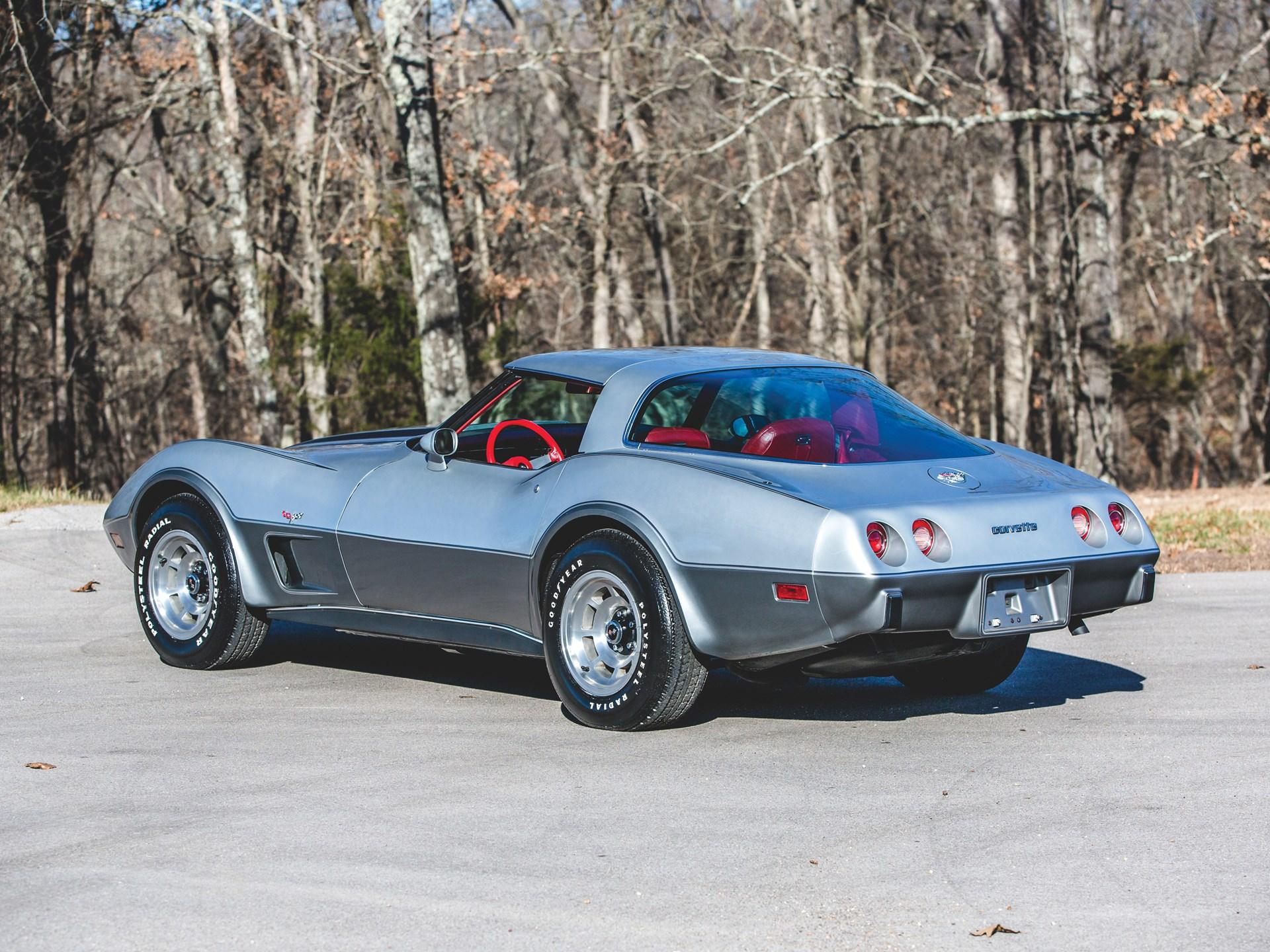 1978 chevy corvette 350 engine specs