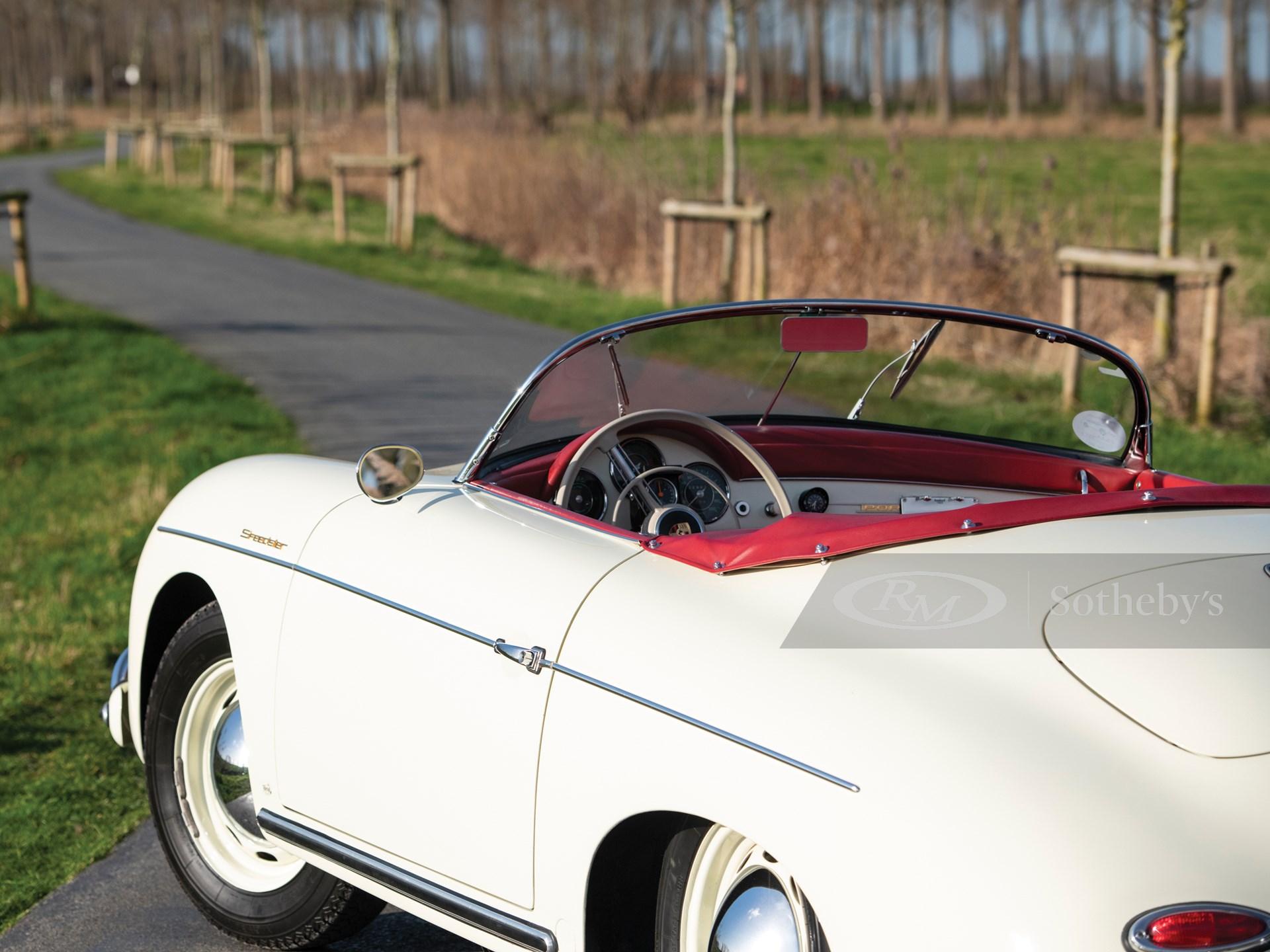 1957 Porsche 356 A 1600 Speedster by Reutter -