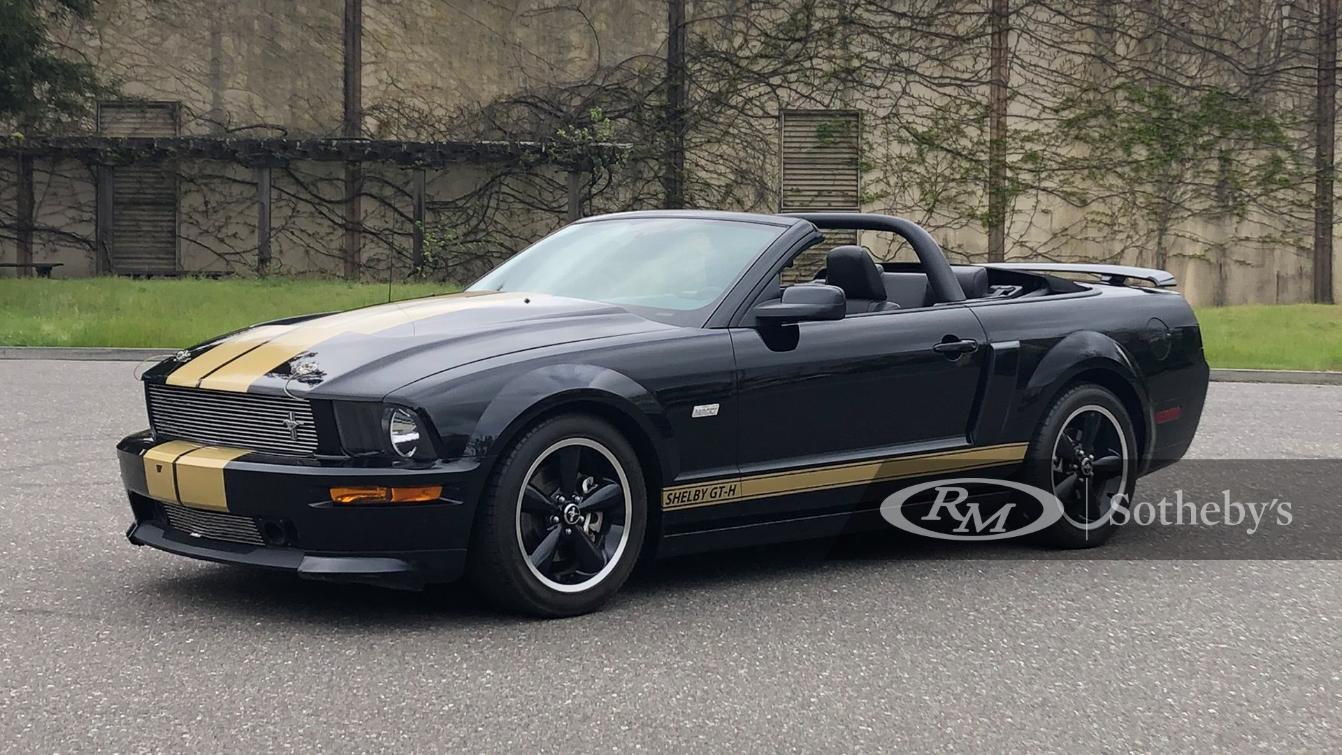 Driving Into Summer, 2007 Ford Shelby GT-H Convertible