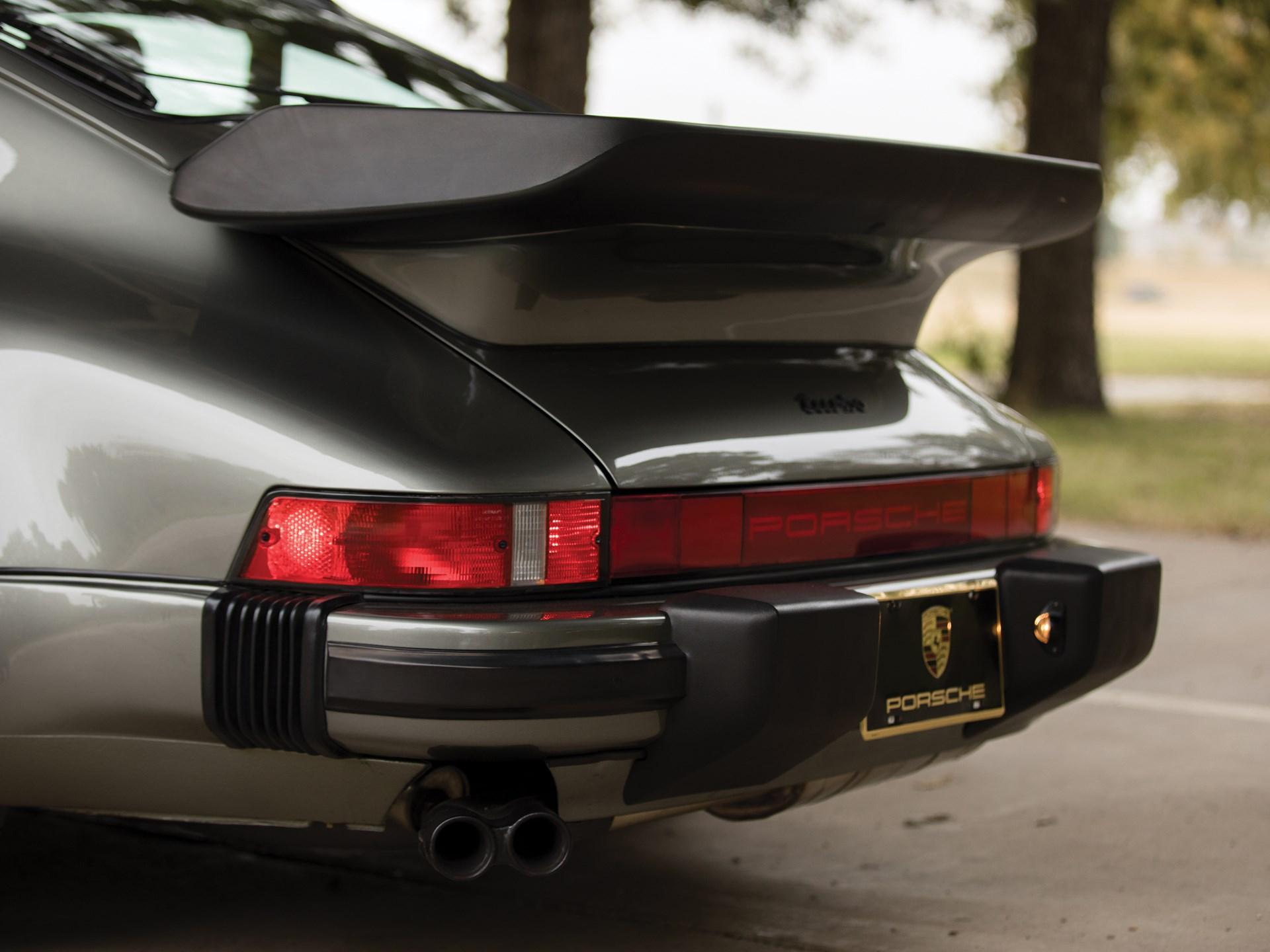 1988 Porsche 911 Turbo 'Flat Nose' Coupe