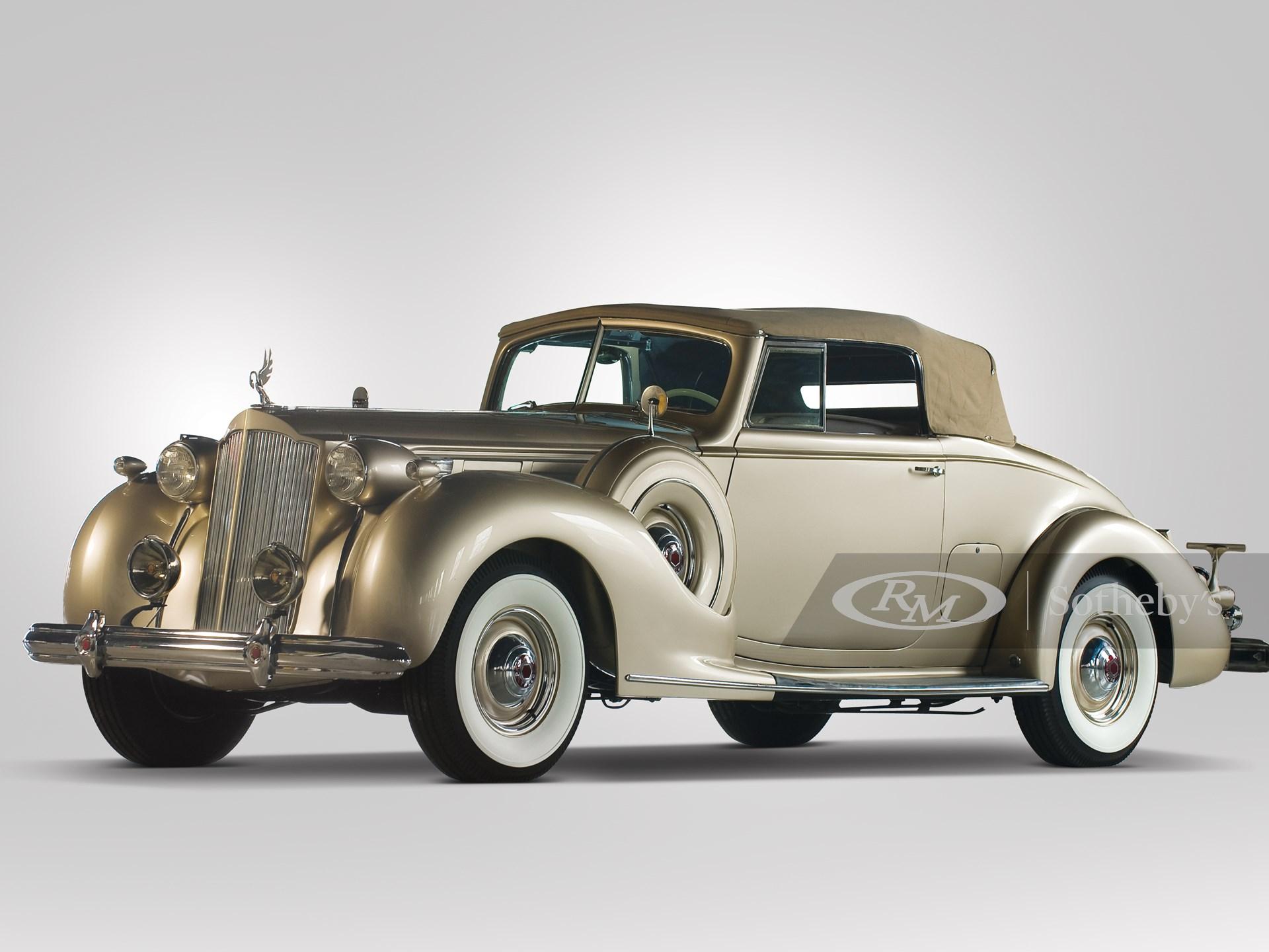 1938 Packard Twelve Coupe Roadster