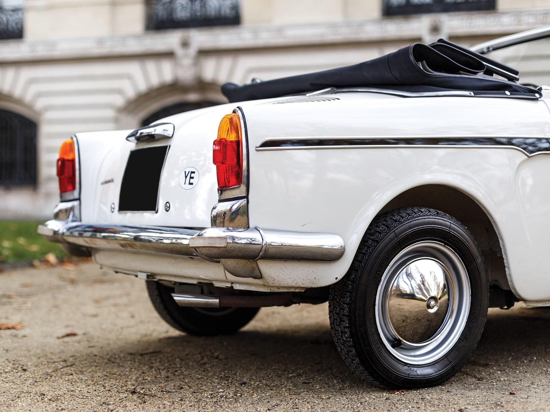 1967 Autobianchi Bianchina 'Eden Roc' Cabriolet