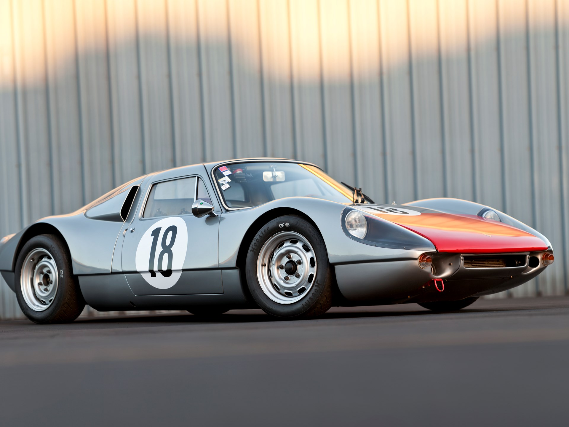 1963 Porsche 904/6 Carrera GTS Factory Works Protoype