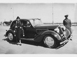 1937 Alfa Romeo 6C 2300 B Pescara Berlina by Touring - $The De Cordova family with their 6C 2300 Pescara when new.