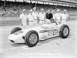 """1961 Ewing """"Dean Van Lines Spl."""" Indianapolis Roadster  - $For the second year in a row, Eddie Sachs qualifies for pole position in the Dean Van Lines Special at the 1961 running of the Indianapolis 500."""