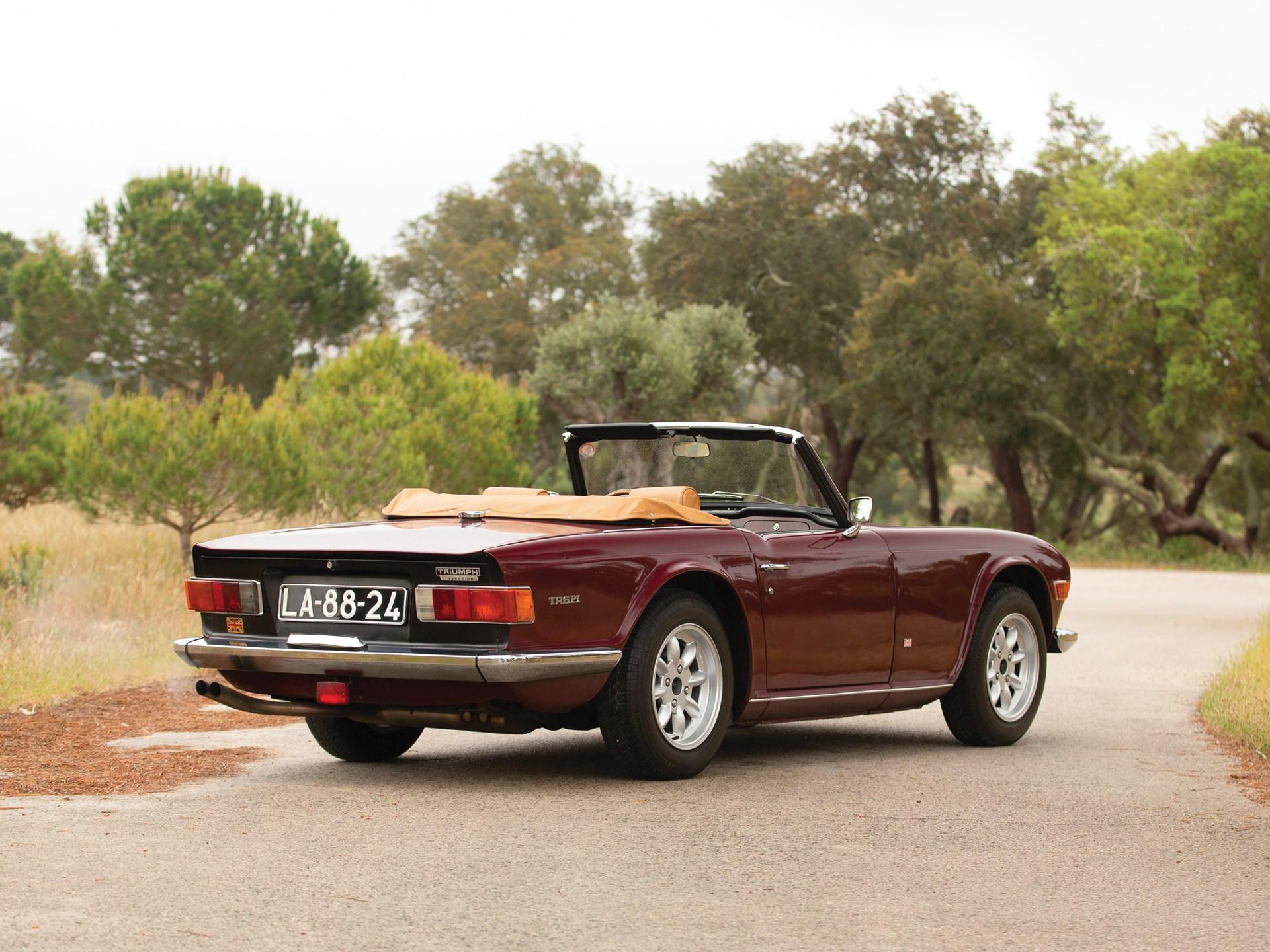RM Sotheby's - 1969 Triumph TR6 Pi | The Sáragga Collection