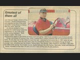 1929 Alfa Romeo 6C 1750 Super Sport  - $Juan Manual Fangio's obituary in the daily South African newspaper, The Star, 20 July 1995.