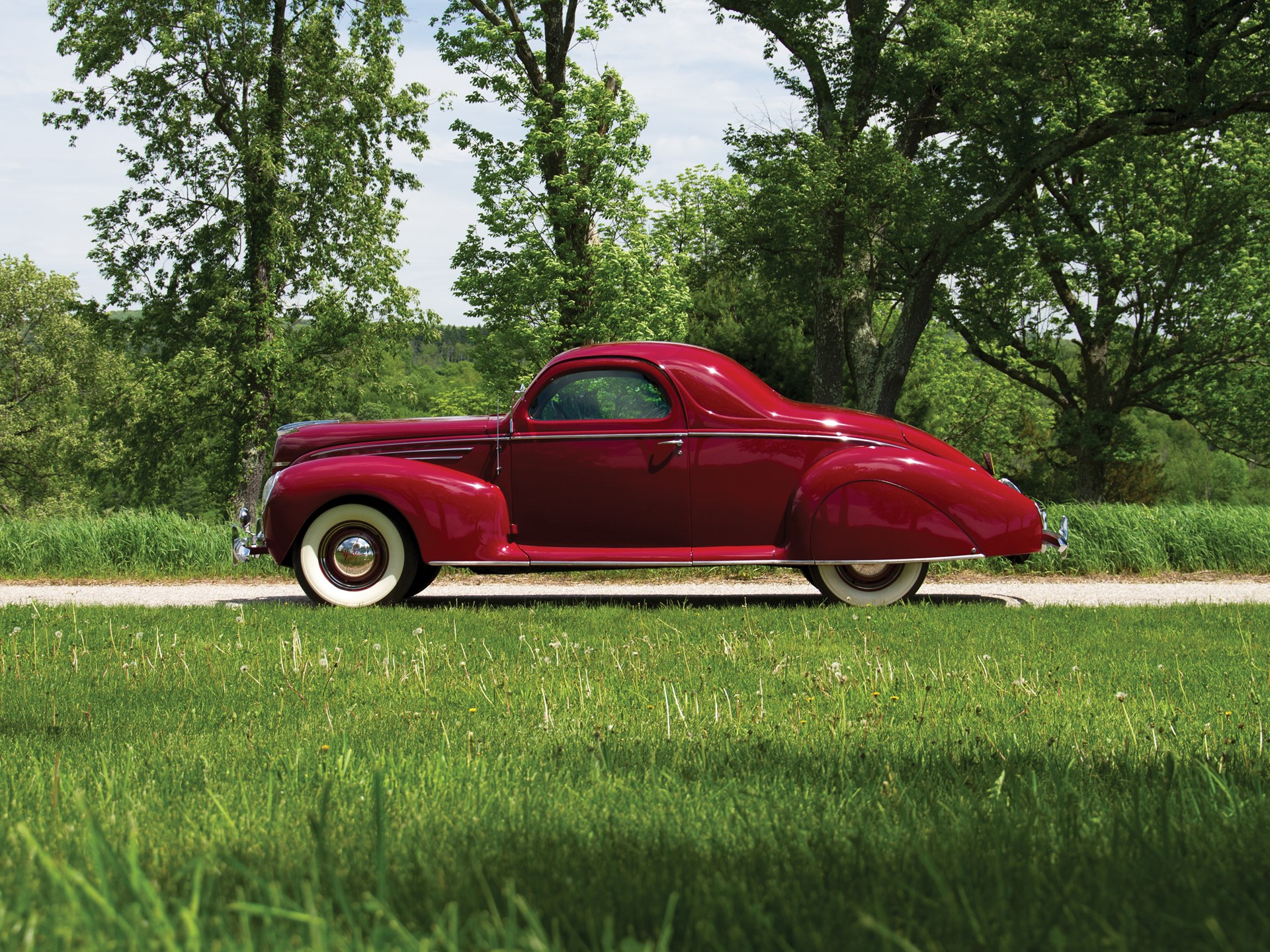 Rm Sotheby S 1939 Lincoln Zephyr Coupe Monterey 2014