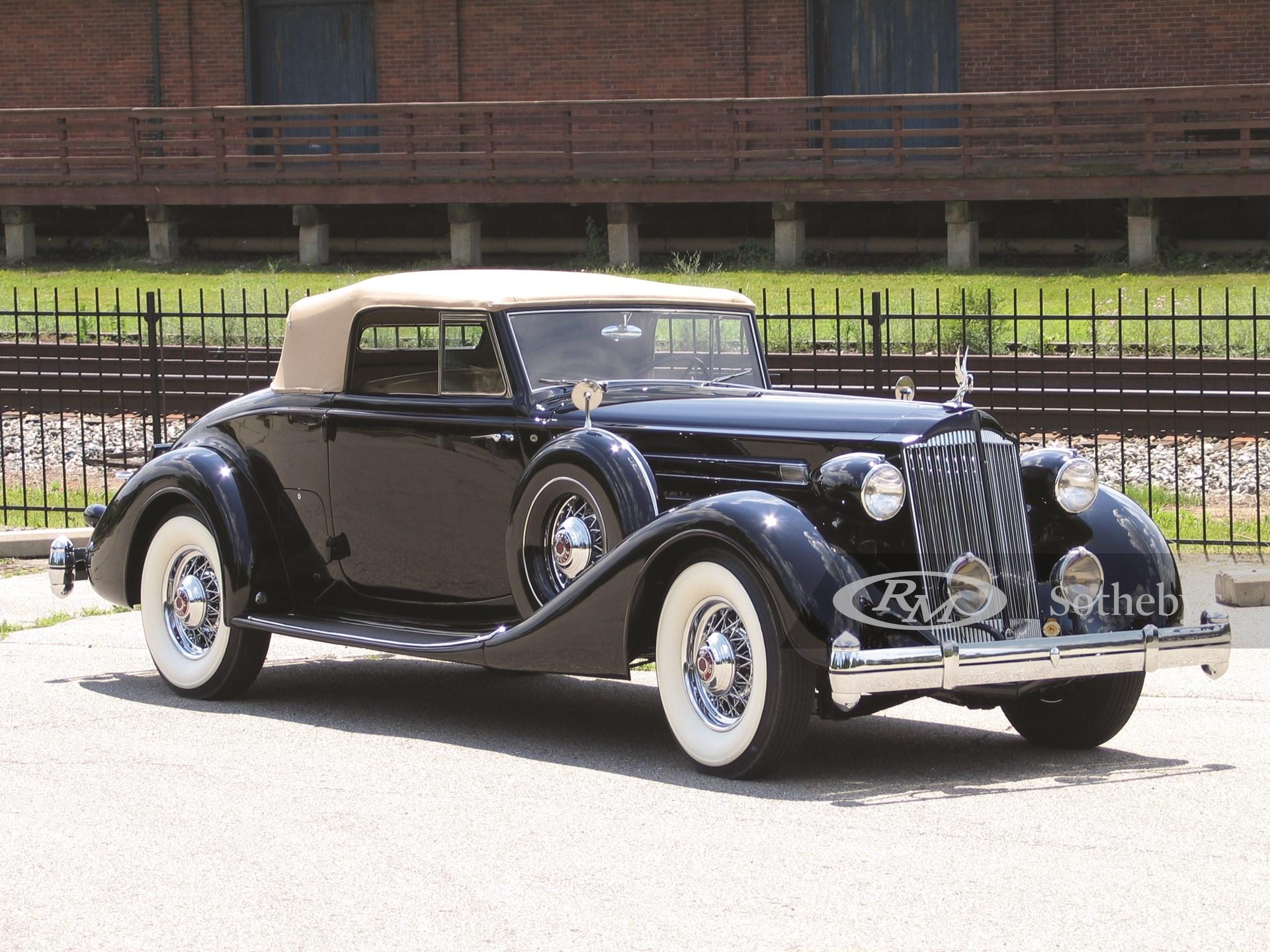1936 Packard Twelve 2/4-Passenger Coupe Roadster