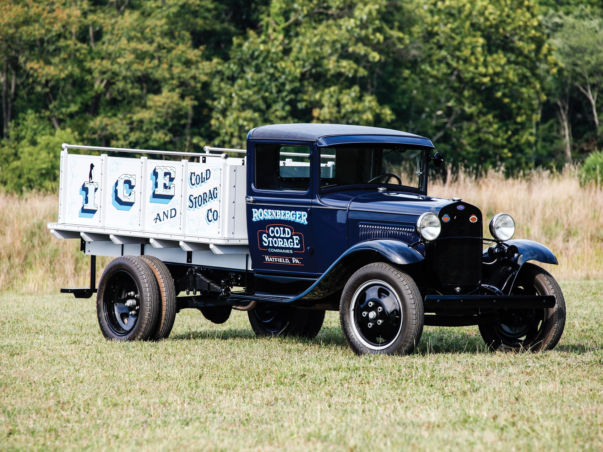 1930 ford model aa 1½ ton ice truck