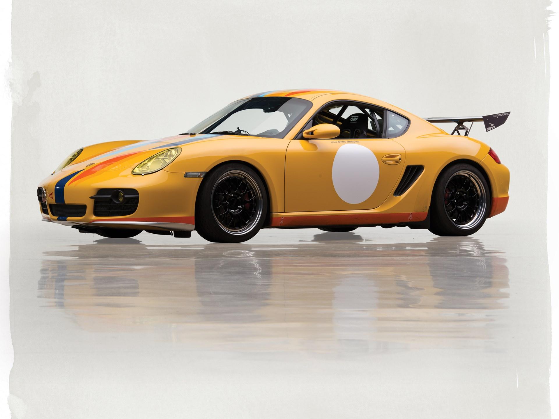 Rm Sotheby S 2008 Porsche Cayman S Track Car The