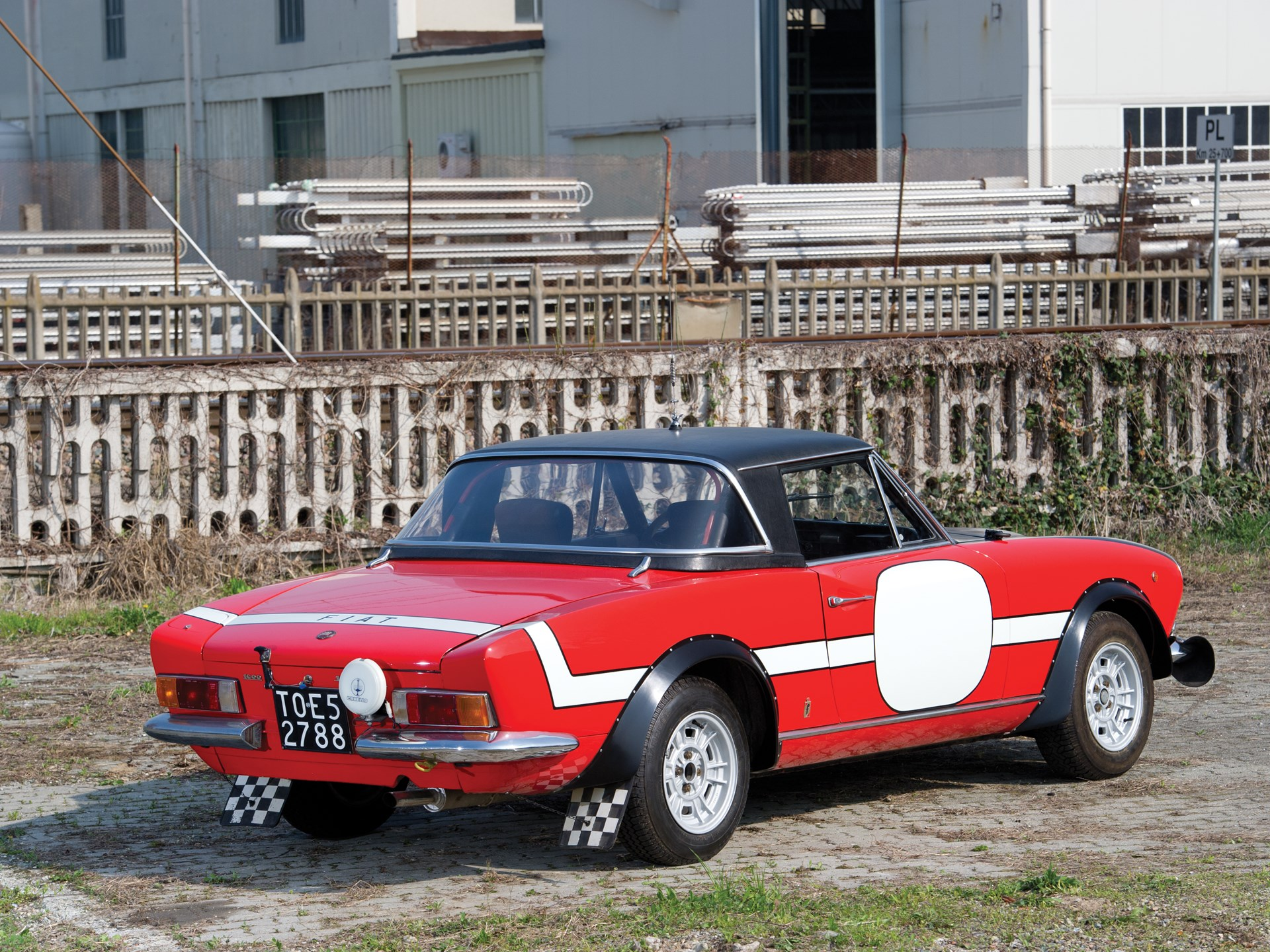 Rm Sotheby S 1972 Fiat 124 Abarth Spider Group Iv Rally Car