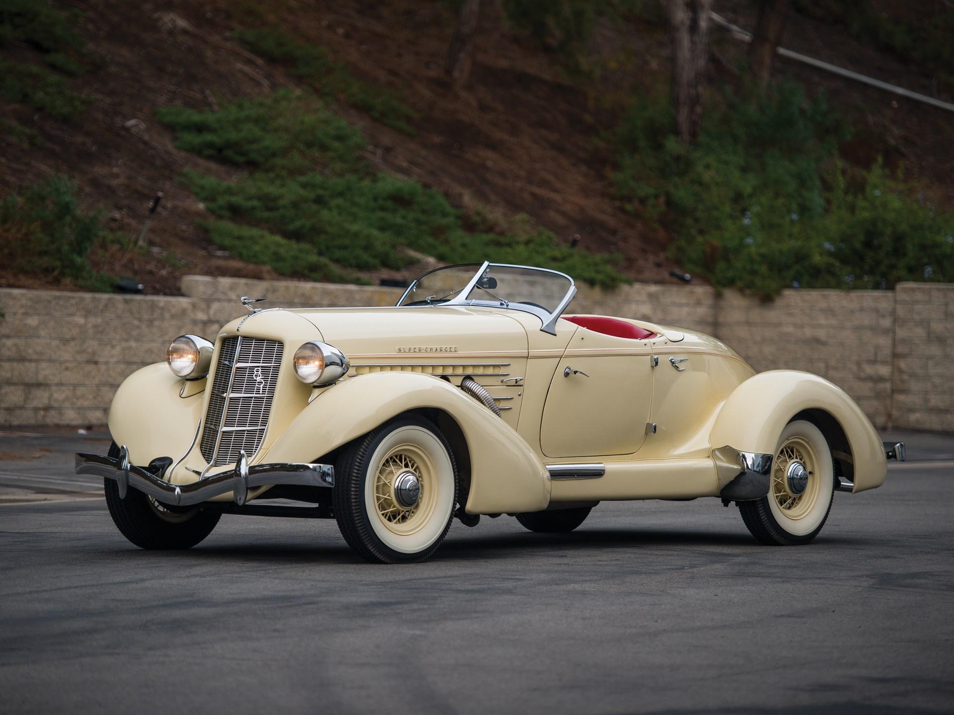 1935 Auburn Eight Supercharged Speedster