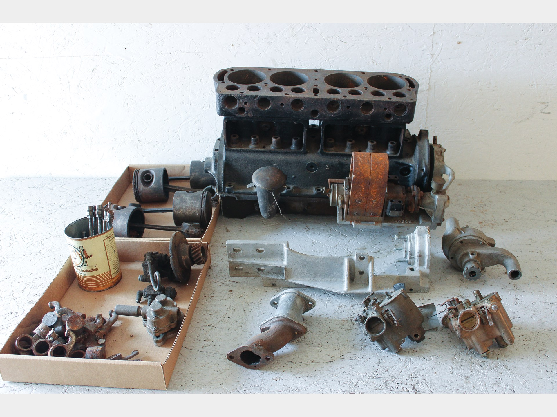 Rm Sothebys Ford Model T Engine Block With Speed Equipment D