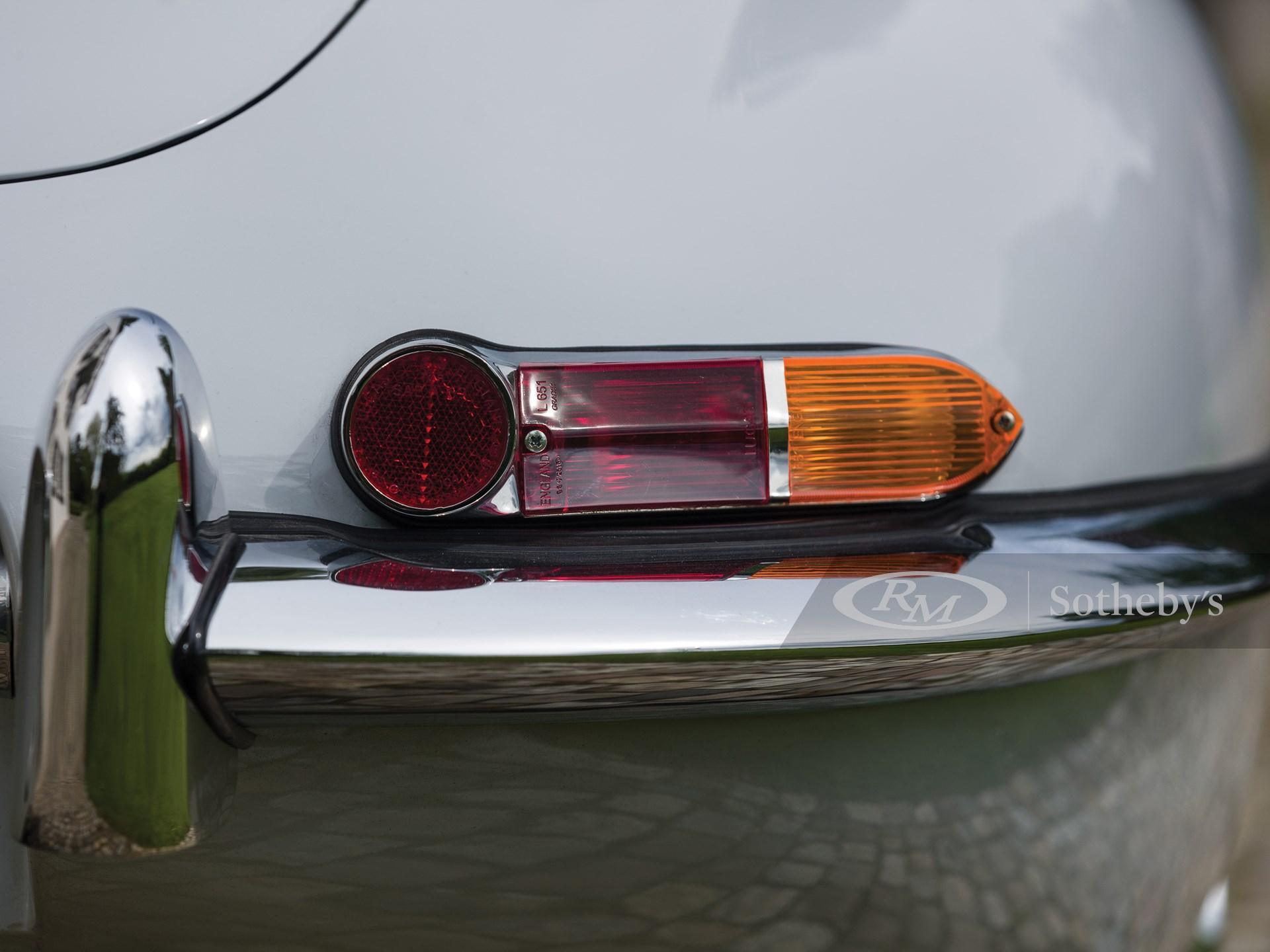 1961 Jaguar E-Type Series 1 3.8-Litre Fixed Head Coupe  -