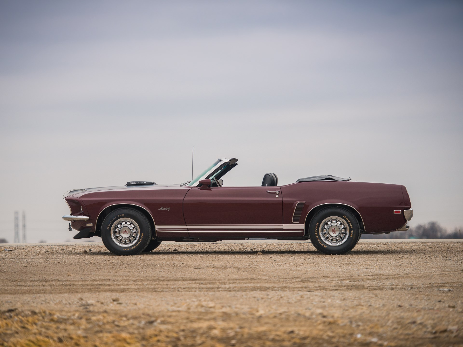 1969 Ford Mustang Gt Convertible For Sale Karmashares Llc 428 Cobra Jet