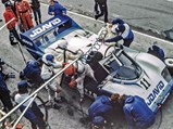 1983 Porsche 956 Group C  - $Chassis no. 956-110 at Brands Hatch in 1983.