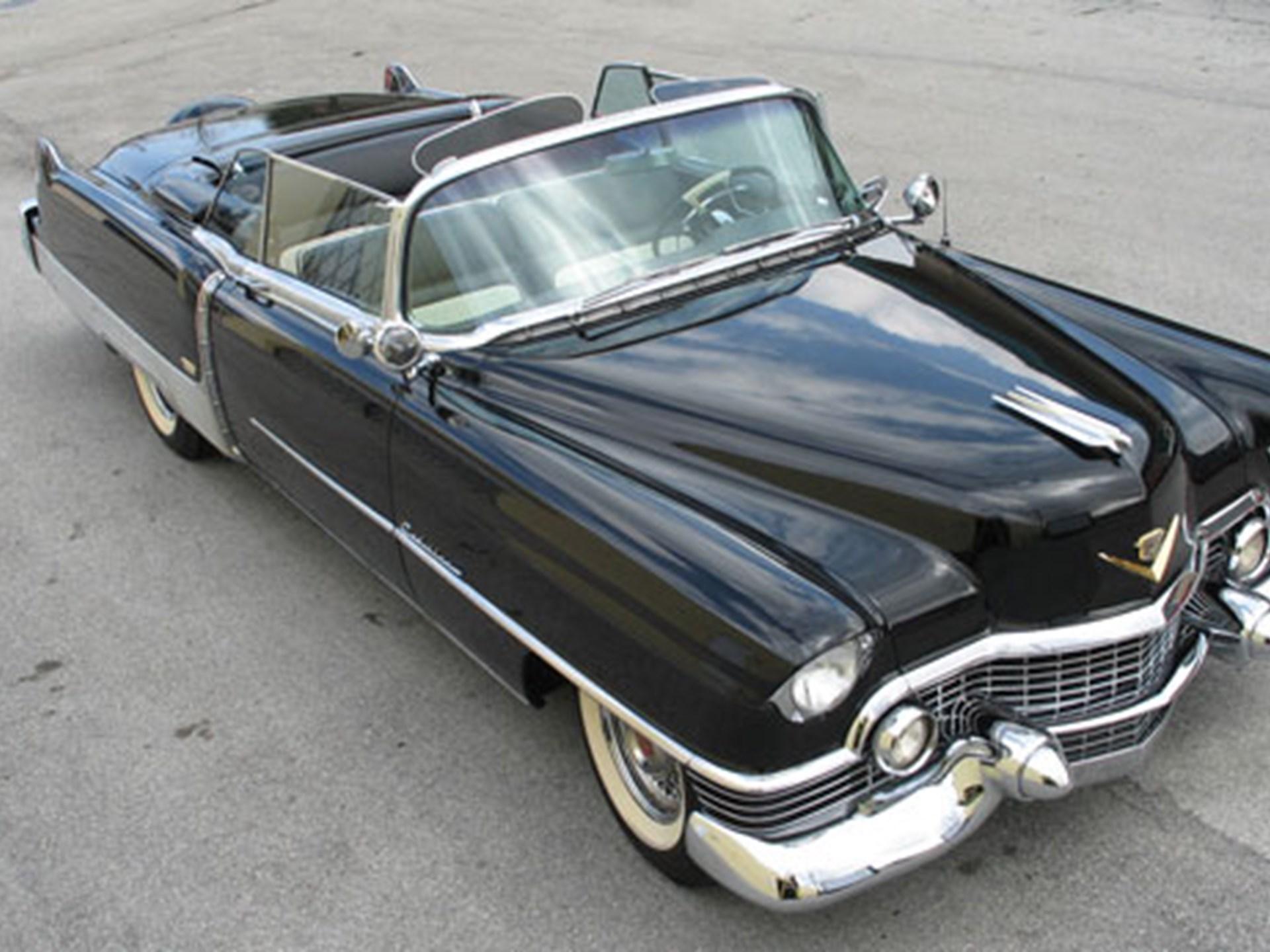 Rm Sothebys 1954 Cadillac Eldorado Convertible Collector Cars El Dorado