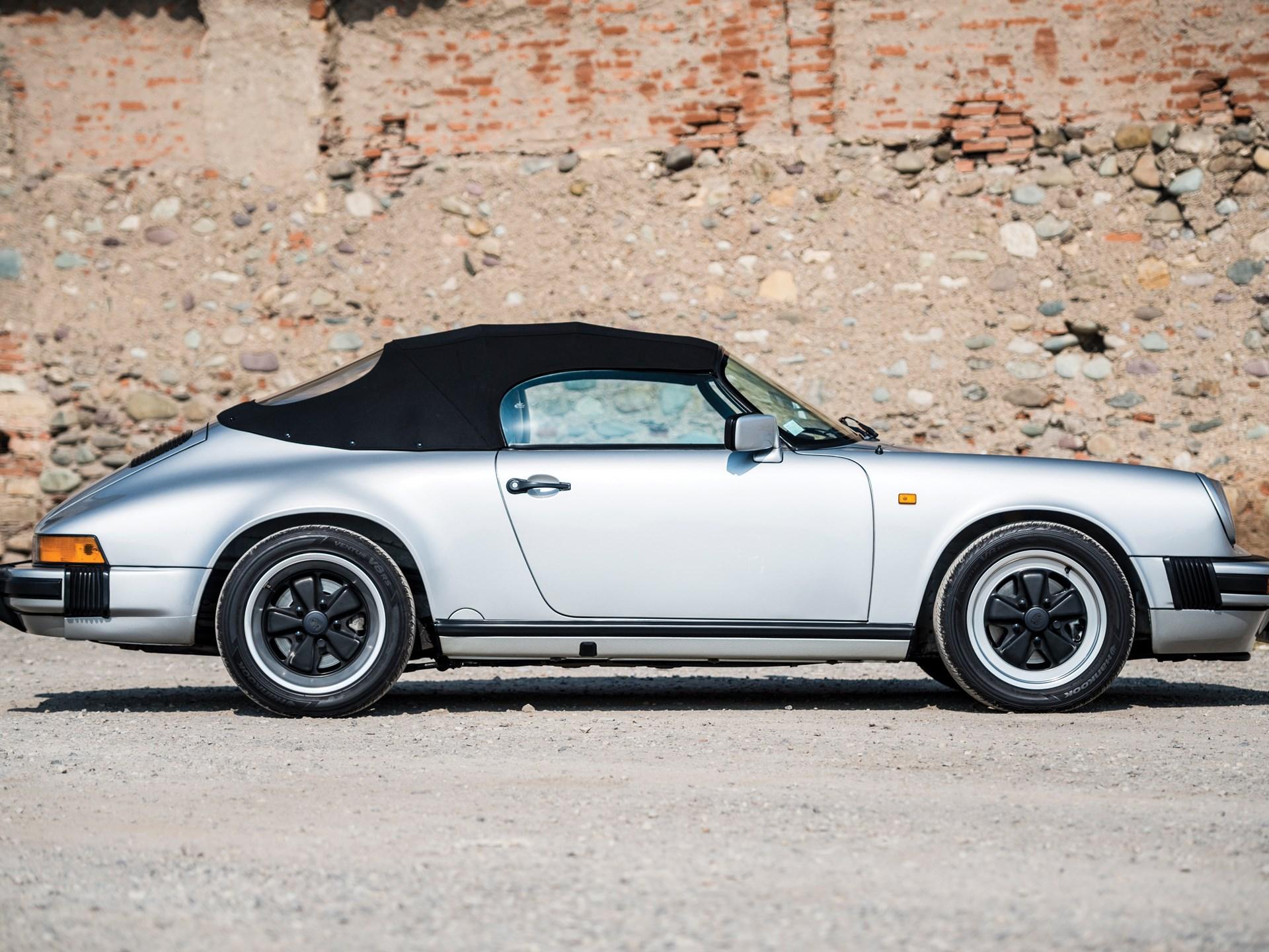 Rm Sotheby S 1989 Porsche 911 Speedster Villa Erba 2017