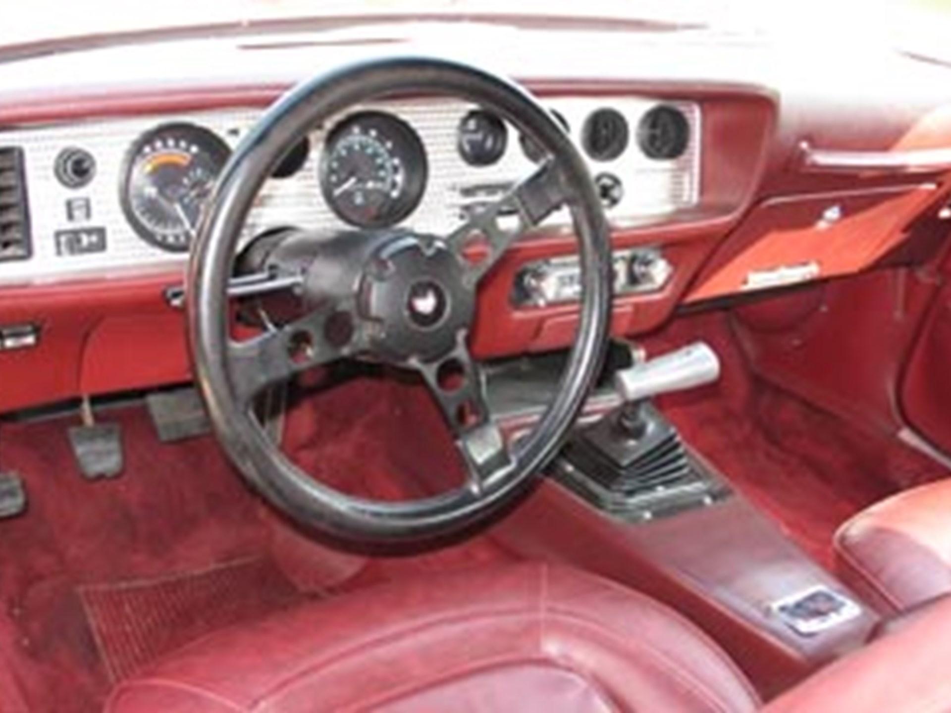 Rm Sothebys 1975 Pontiac Trans Am Coupe The Florida Collector