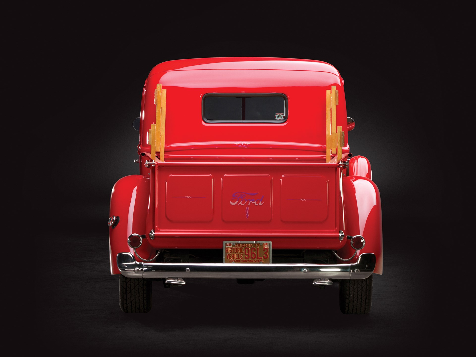 Rm Sothebys 1941 Ford Half Ton Pickup Sam Pack Collection 2014 3 4 Truck