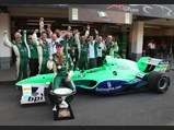 2005 Lola B05/52 A1 Grand Prix  - $Adam Carroll, Team Ireland, Round 8, A1 Grand Prix of Nations, Mexico, 2007–08.